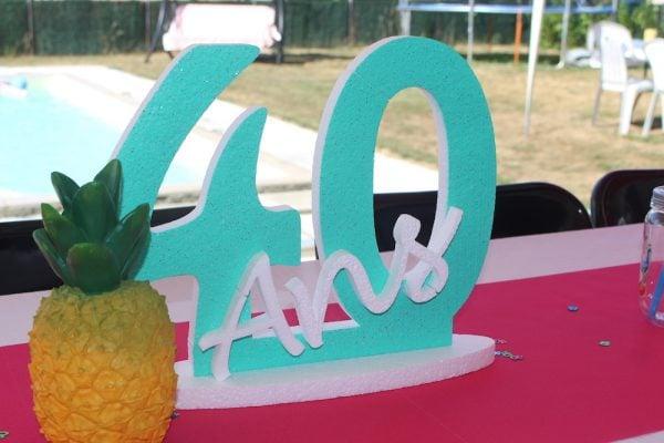 anniversaire 40ans tropical2 - Anniversaire 40 ans - Thématique tropical
